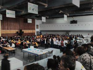 Η αίθουσα – ο διαγωνιστικός χώρος – οι ομάδες